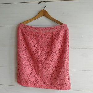 💐3/$8 Floral Lace Pencil Skirt